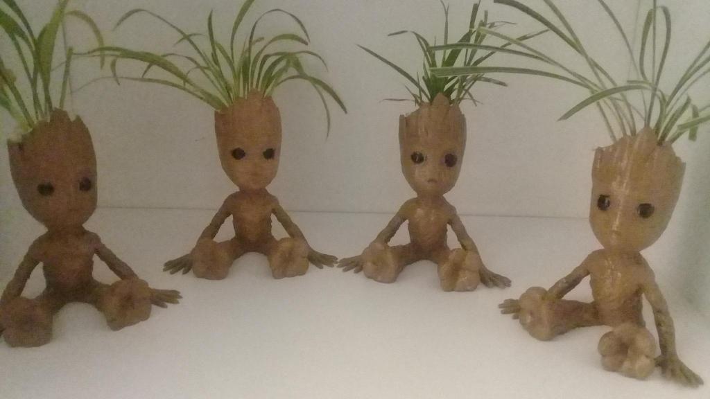 Matera decorativa Baby Groot Guardianes de la Galaxia