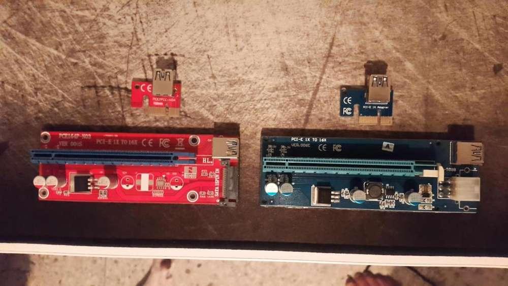 Adaptador Pci Express X1 a X16 Riser