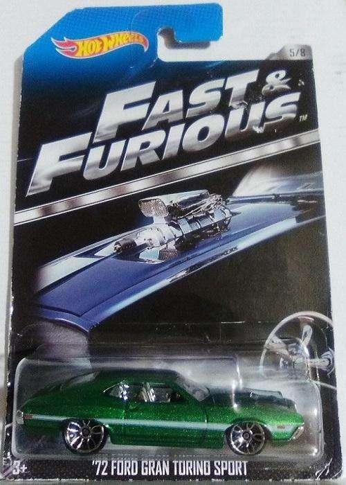 Hot Wheels '72 Ford Grand Torino Sport Rápidos y Furiosos