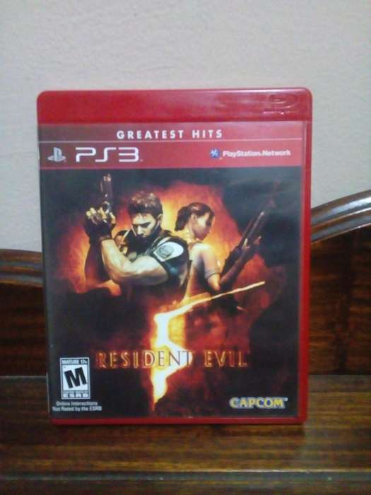 Resident Evil 5 PS3 juego Play Station 3