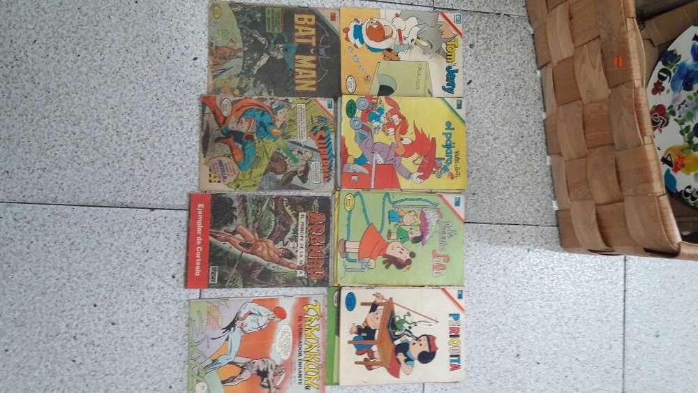 Antiguas Revistas de Comics