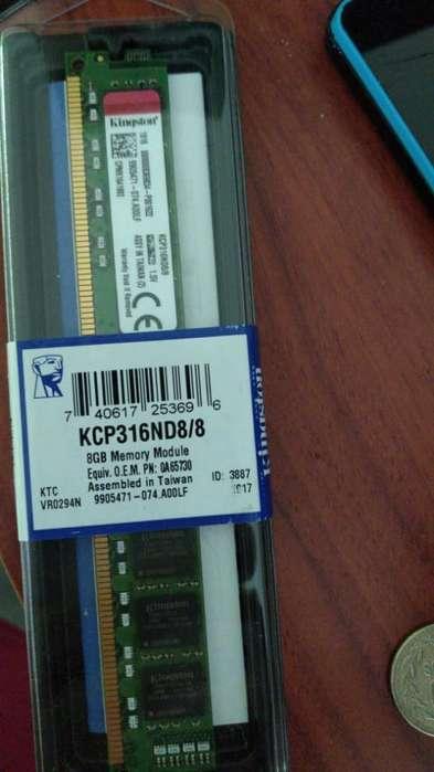 Memoria Ddr3 8gb para Pc Kingston