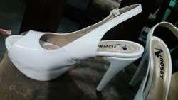 Zapato Blanco de Sharoll