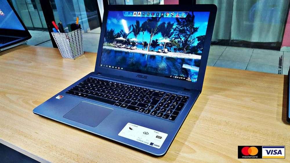 ASUS VivoBook AMD A9 HASTA 3.5GHz, 4GB DDR, 1TB HDD, 2GB GRAFICOS DEDICADOS, 15.6