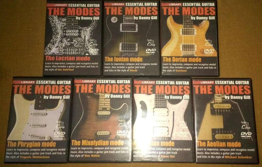 Curso Guitarra LickLibrary Essential Guitar The Modes