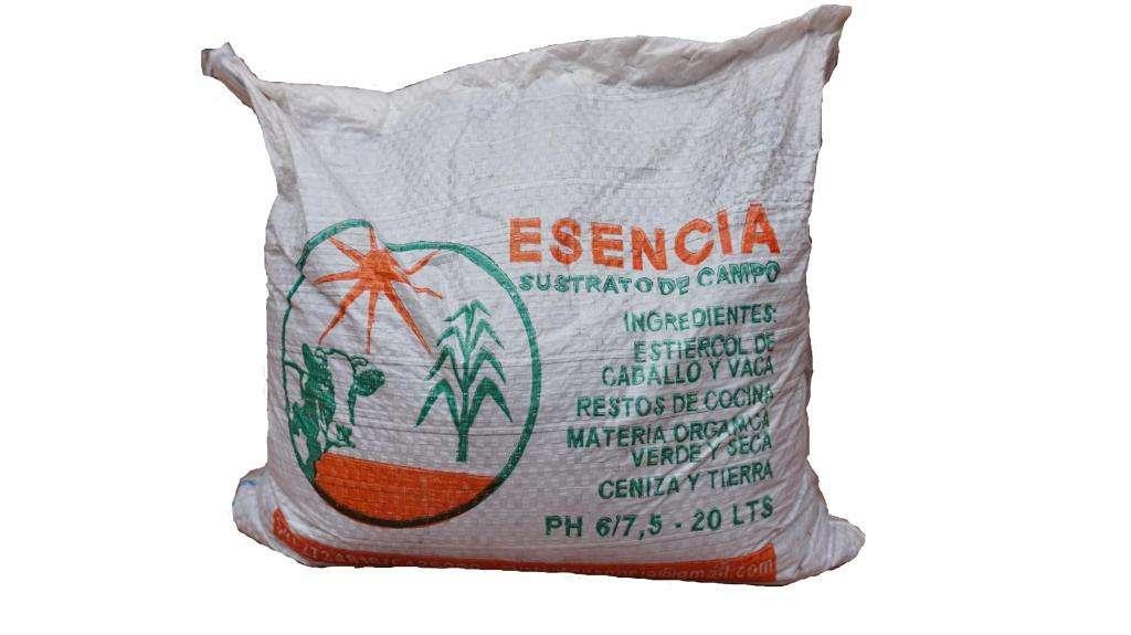 Sustrato Agroecologico Esencia 20 LTS. Tierra fértil Rosario