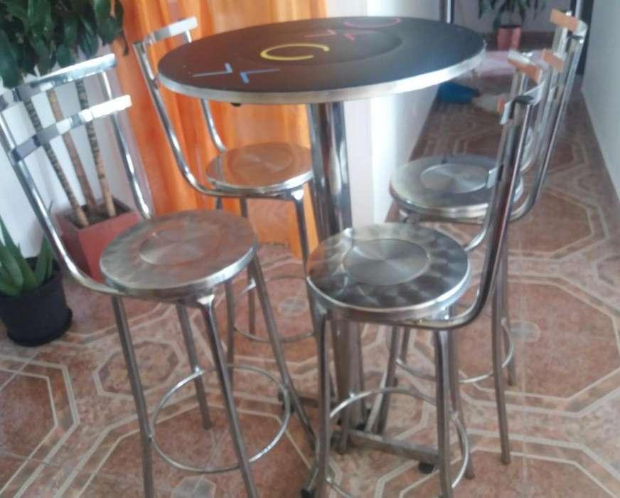 <strong>sillas</strong> y mesas para local/negocio
