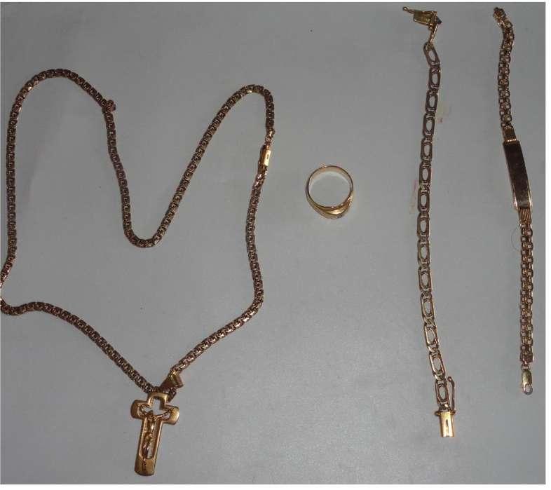 venta de joyas todo el lote oro de 18k mi movil 0993705327