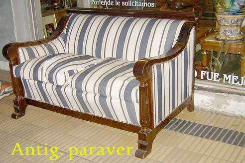 Juego De <strong>living</strong> Sillones Diseño Art Deco retro buen tapizado almohadones pluma estructura cedro