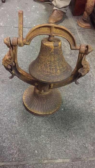 <strong>campana</strong> en Hierro