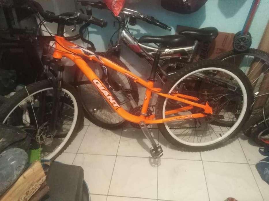 Vendo <strong>bicicleta</strong> de Aluminio