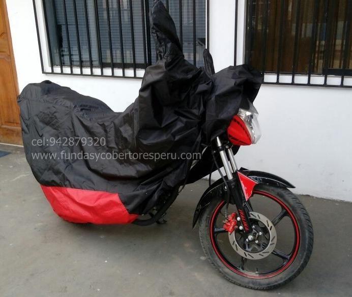 Funda Cobertor para moto Italika, honda,yamaha, keeway, harley