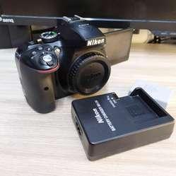 Body Cuerpo Cámara SLR Nikon D5300 24.2MP Digital