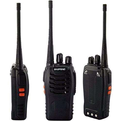 IMPERDIBLE Handie ECONOMICO PARA REMIS SEGURIDAD PAINTBALL ETC Baofeng Bf888s Uhf Vox Manos Libres 16Ch