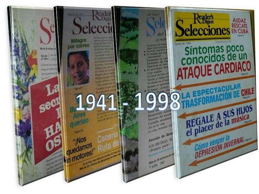 Selecciones del Reader's Digest. Colección desde 1941 a 1998.