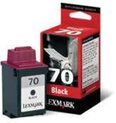 Lexmark 70 Negro Alto Rend 12a1970 (vencido)