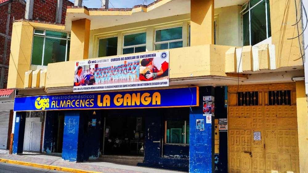 Venta de Casa con Proyección para 5 pisos en Catamayo