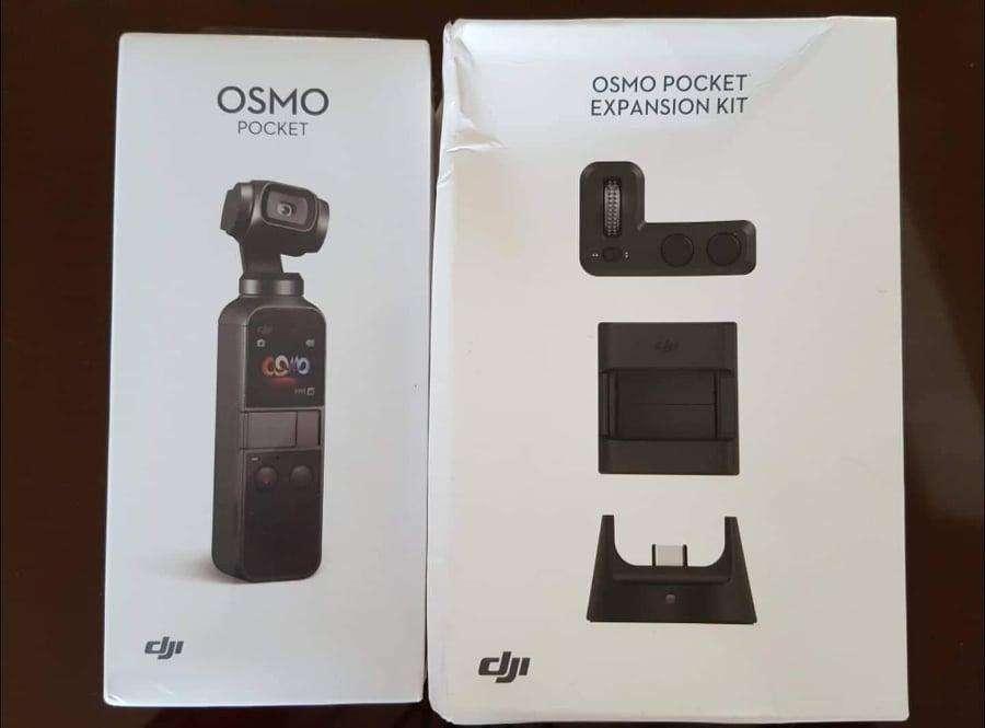 Dji Osmo Pocket Expansion Kit sd incluida