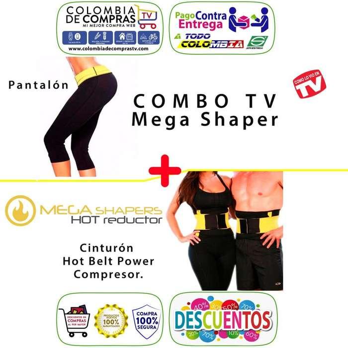 Pantalón Hot Tv Faja Compresora Belt Power Shapers, Nuevos, Originales, Garantizados