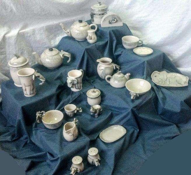 Juego Completo 27 Piezas Desayuno Para 1 Jeque de Turquía