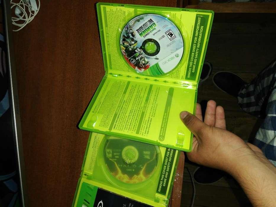 Dos Juegos de Xbox 360 Originales a 5