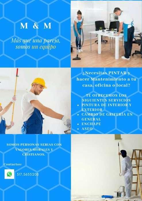 Servicio de Pintura Y Manteniendo