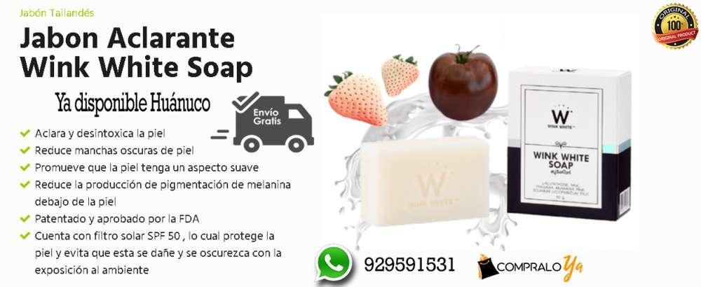 JABON ACLARANTE WINK WHITE SOAP
