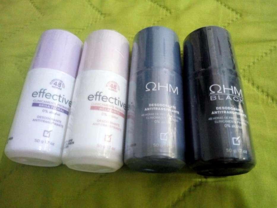 Yanbal 4 Desodorantes