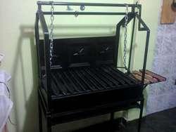 asadores a carbon se fabrican