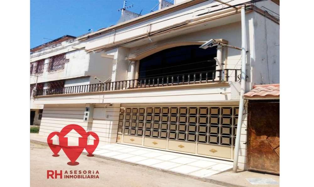 CASA RENTERA A LA VENTA 470 M2 EN EL SECTOR PARQUE LINEAL, MACHALA COD 455