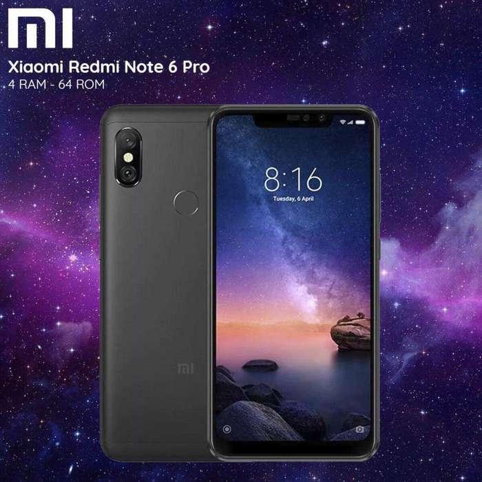 Celular libre xiaomi Note 6 pro 64gb Nuevo sellado de fabrica