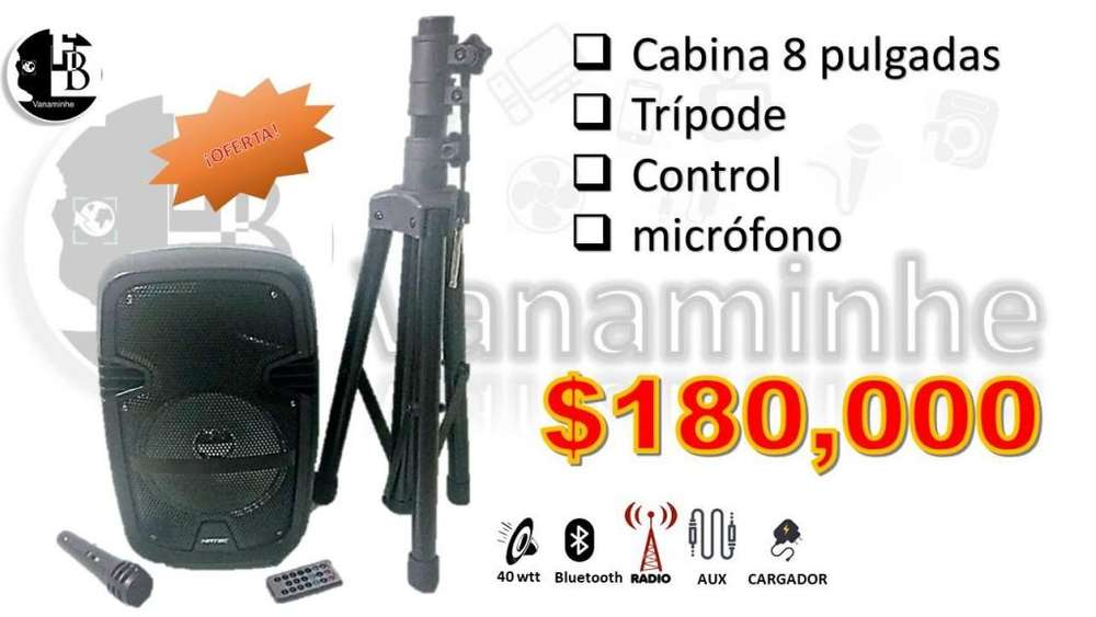CABINA DE 8 TRIPODE