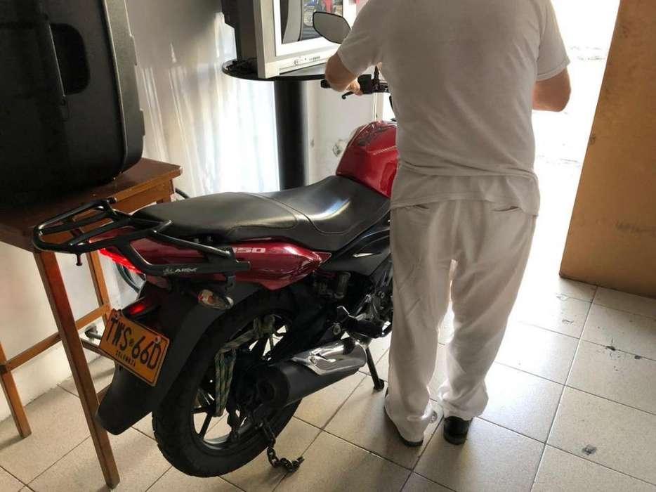<strong>motocicleta</strong> Discover 150 St Roja