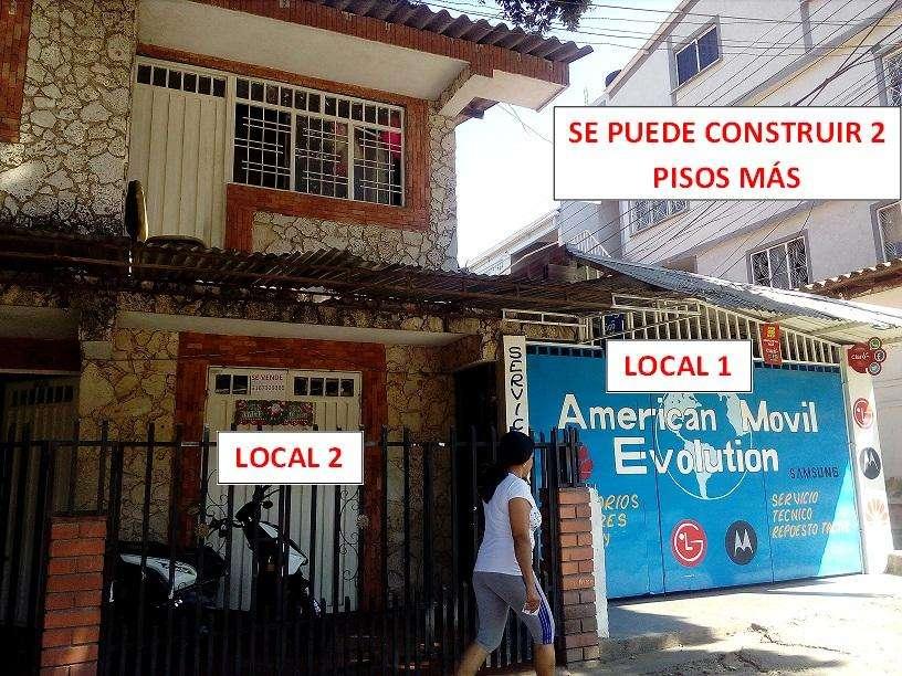 CASA CON LOCALES SUPER COMERCIALES