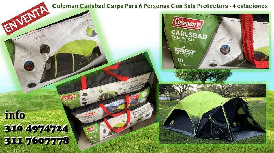 Carpa Coleman Carlsbad 6P 4 Estaciones