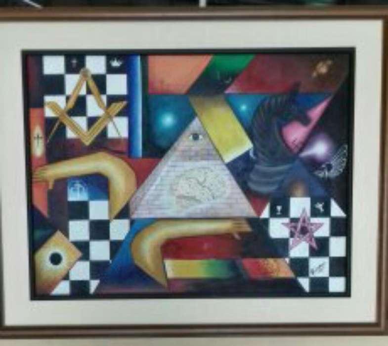 Pintura Al Oleo de 1mt X 120