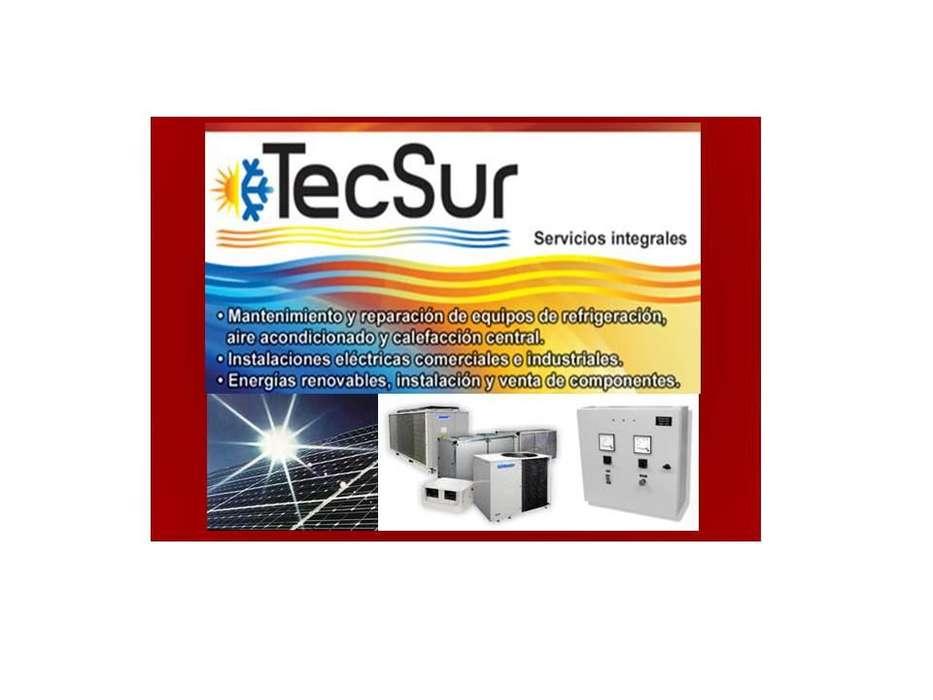 Servicios técnicos eléctricos y aire acondicionado.