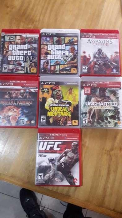 Vendo O Permuto Juegos de Playstation 3