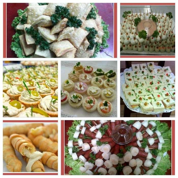 Pasapalos y pasabocas deliciosos y con presentación gourmet