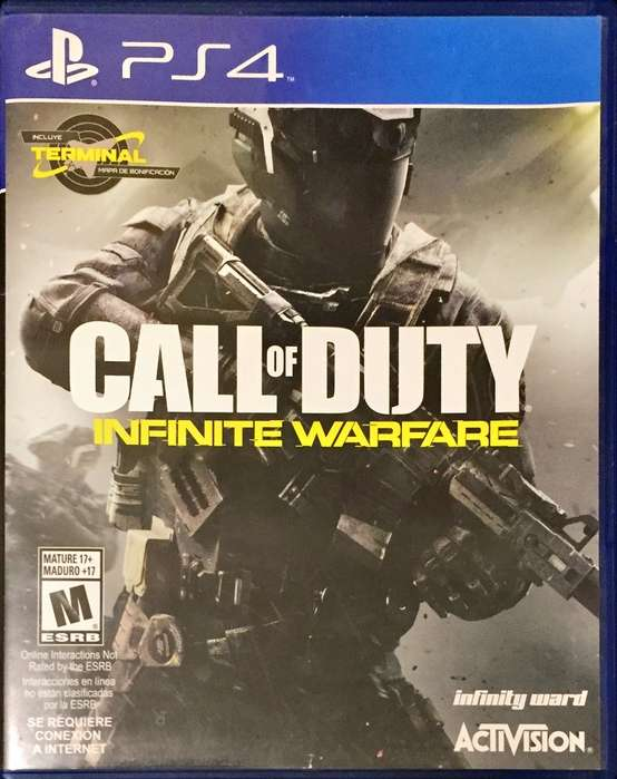 Call Of Duty Infinite Warfare Ps4 como Nuevo Fisico Español