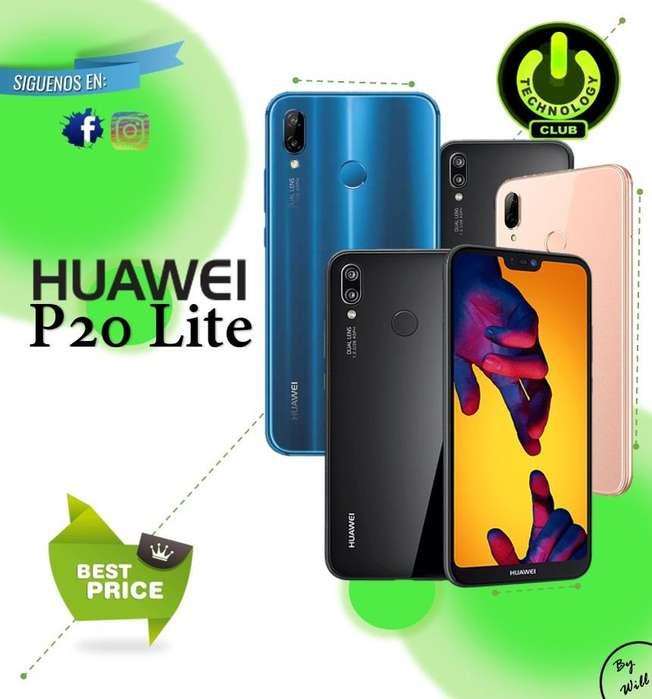 Huawei P20 Lite 32 Gb Todo Pantalla / Tienda física Centro de Trujillo / Celulares sellados Garantia 12 Meses