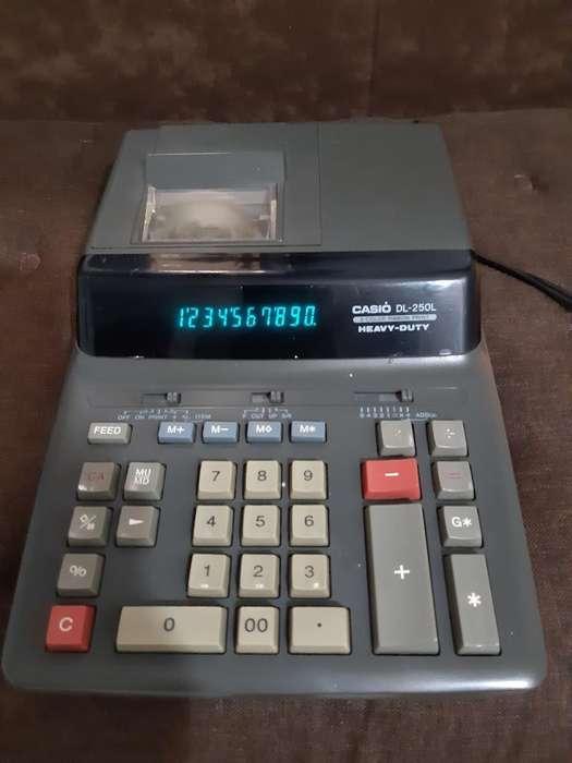 Calculadora Sumadora Casio Dl250l
