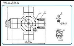 Cruceta Skf 4584
