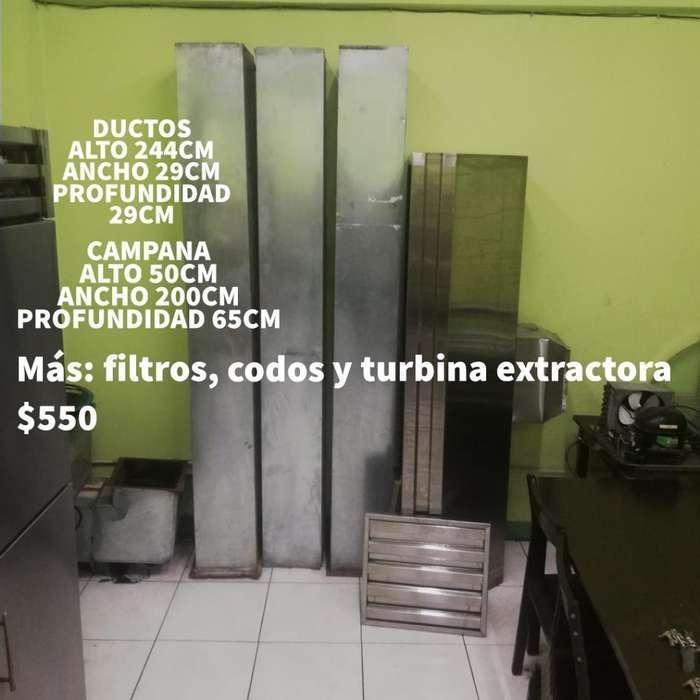 <strong>campana</strong> Ductos Extractor Turbina Filtro