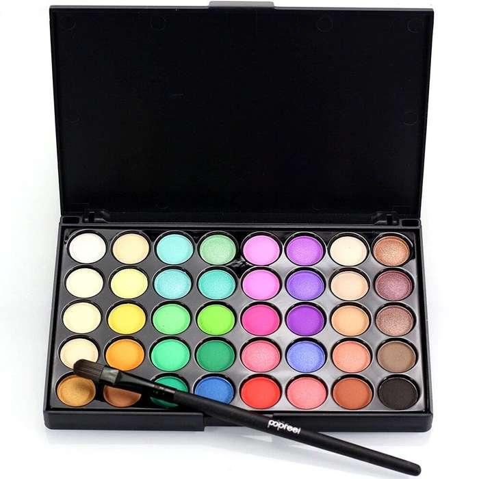 Paleta de sombras de ojos x 40 colores popfeel