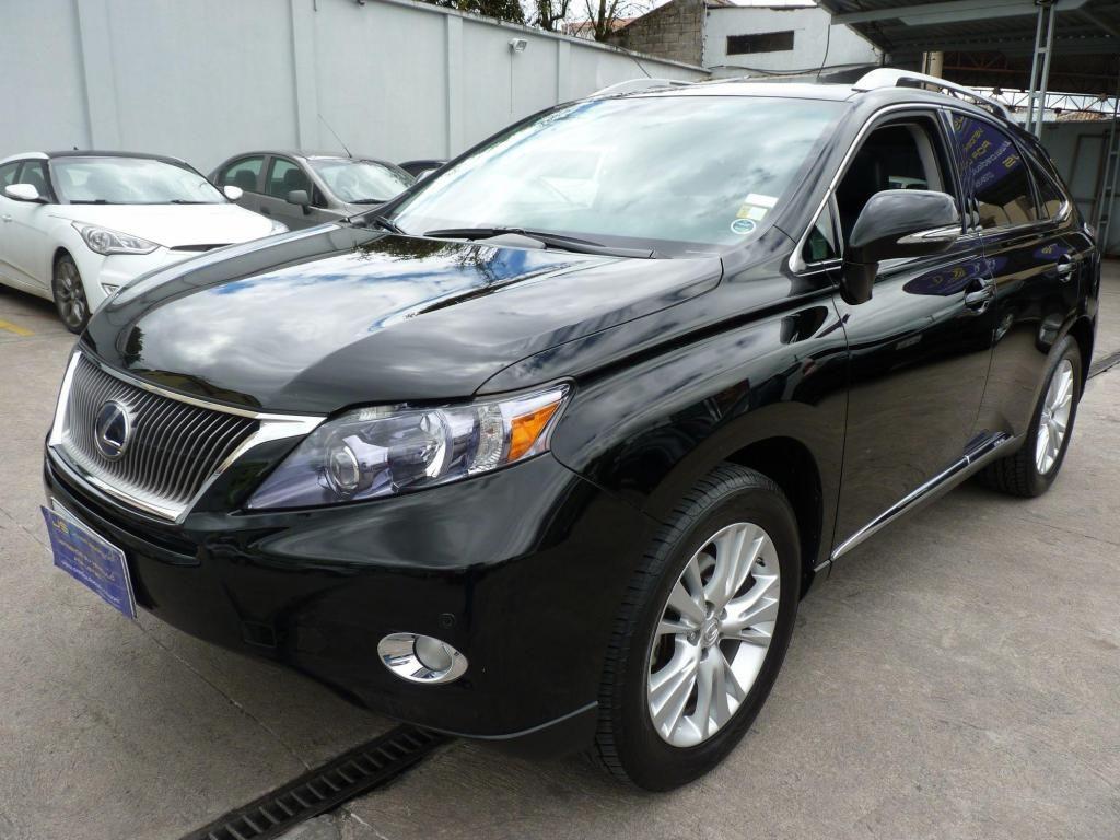 venta  lexus rx450h negro 2010