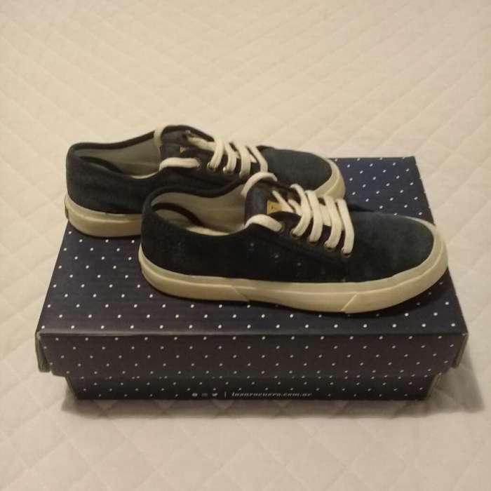 Zapatillas Azules niña N*34 159