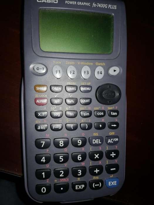 <strong>calculadora</strong> Casio Fx 7400