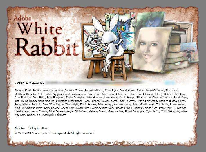 ADOBE PHOTOSHOP CS5 WHITE RABBIT EDITOR GRAFICO PROFESIONAL CHAVEZ Computacion