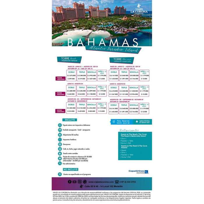 las Bahamas - Viajes la Corona 21